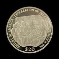 LIBERIA, 2000 $20 PF65 DCam KM711