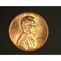 1970-S LD LINCOLN MEMORIAL CENT 1c MS64 RD