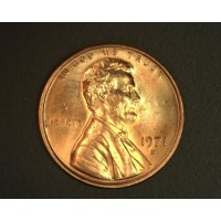 1971-D LINCOLN MEMORIAL CENT 1c MS64 RD