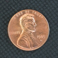 1985-D LINCOLN MEMORIAL CENT 1c MS65 RD