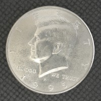 1995-P KENNEDY HALF DOLLAR 50c MS65