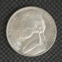 1951-D JEFFERSON NICKEL 5c (Nickel) MS65