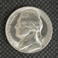 1956 JEFFERSON NICKEL 5c (Nickel) MS64