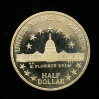 1989-S Congress 1/2$ PF65+ DCam