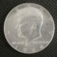 1964 KENNEDY HALF DOLLAR 50c MS63