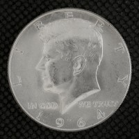 1964 KENNEDY HALF DOLLAR 50c MS63