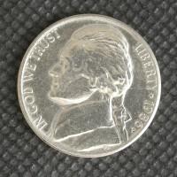 1986-P JEFFERSON NICKEL 5c (Nickel) MS64 AFS
