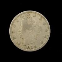 1888 LIBERTY NICKEL 5c (Nickel) F18