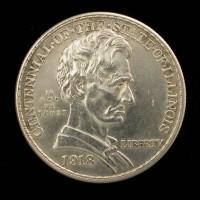 1918 Illinois 1/2$ MS60