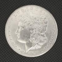 1902-O MORGAN DOLLAR $1 MS62