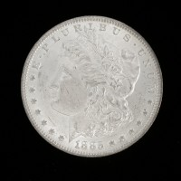 1885-O MORGAN DOLLAR $1 MS62