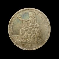 1877 TRADE DOLLAR $1 VF25