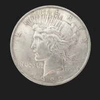 1922 PEACE DOLLAR $1 MS61
