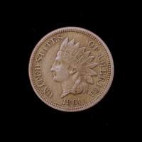 1861 INDIAN CENT 1c EF40