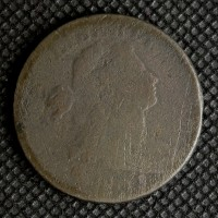 1803 SD SF DRAPED BUST LARGE CENT 1c AG-G