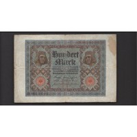 GERMANY, 1920 100 Mark G4 P69a