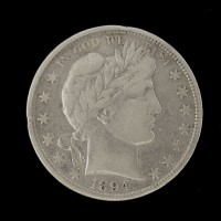 1894 BARBER HALF DOLLAR 50c VF20