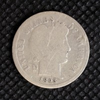 1893-S BARBER DIME 10c G4