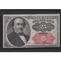 25 Cent Cent 25c AU58