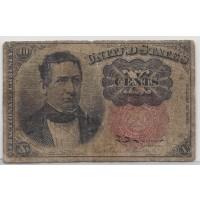 10 Cent Cent 10c VG8