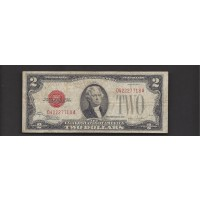 1928-F $2 UNITED STATES NOTE $2 F12