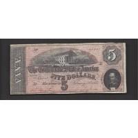 1864 Type 69 $5 F12