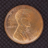 1909 VDB LINCOLN WHEAT CENT 1c Avg Circ