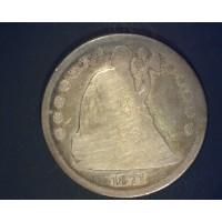 1871 LIBERTY SEATED DOLLAR $1 G4