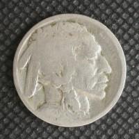 1920-S BUFFALO NICKEL 5c (Nickel) AG3