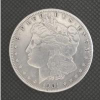 1901-O Rev of 1901 MORGAN DOLLAR $1 VF20
