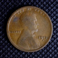 1913-D LINCOLN WHEAT CENT 1c VG8