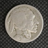 1923 BUFFALO NICKEL 5c (Nickel) G/VG