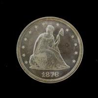 1878 LIBERTY SEATED TWENTY CENT 20c PF63