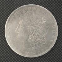 1893-O MORGAN DOLLAR $1 AU50