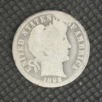 1898-O BARBER DIME 10c G4