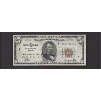 1929 $20 FEDERAL RESERVE BANK NOTE $20 F15