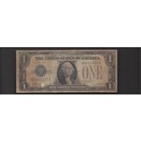 1928 $1 SILVER CERTIFICATE $1 VG8