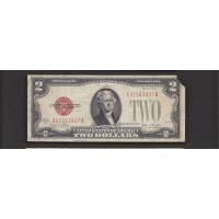 1928-G $2 UNITED STATES NOTE $2 F12
