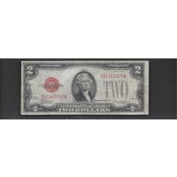 1928-D $2 UNITED STATES NOTE $2 VG8