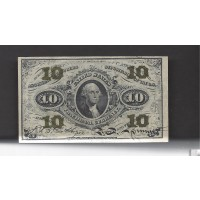 10 Cent Cent 10c EF40