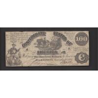 1861 Type 13 $100 F12