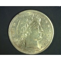 1904-O BARBER HALF DOLLAR 50c MS63