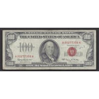 1966 $100 UNITED STATES NOTE $100 F18