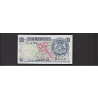 SINGAPORE, 1972 $1 EF40 P1d