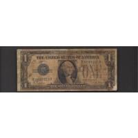1928-A $1 SILVER CERTIFICATE $1 VG8