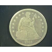 1841 LIBERTY SEATED DOLLAR $1 G4