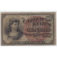 10 Cent Cent 10c VF20
