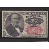 25 Cent Cent 25c AU50
