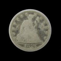 1875-CC LIBERTY SEATED TWENTY CENT 20c G6