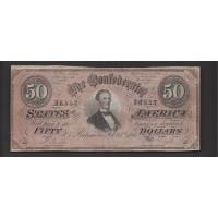 1864 Type 66 $50 VF30